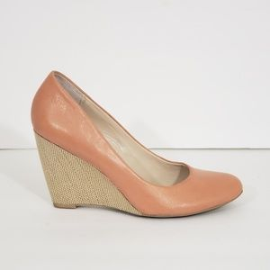 Franco Sarto Women's Coral Leather Wedges Heels